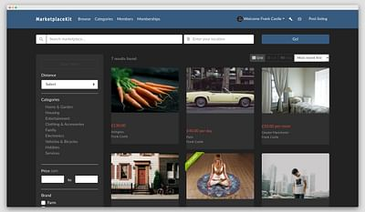 Marketplace theme